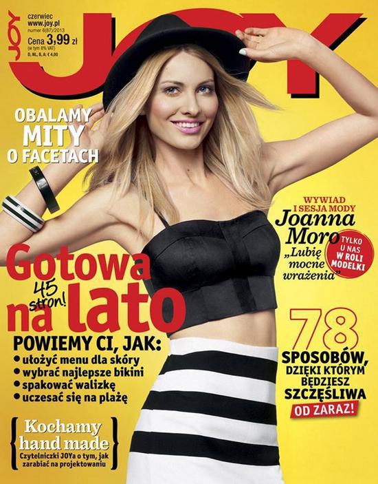 Joanna Moro na okładce najnowszego numeru Joy'a (FOTO)