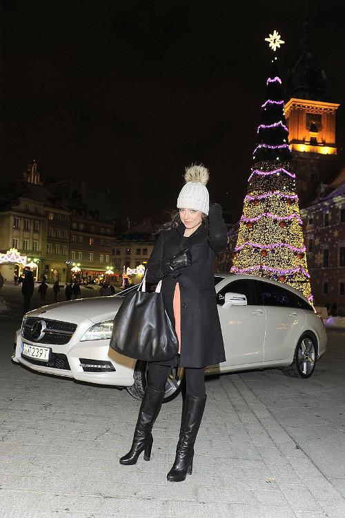 Anna Mucha w nowym mercedesie (FOTO)