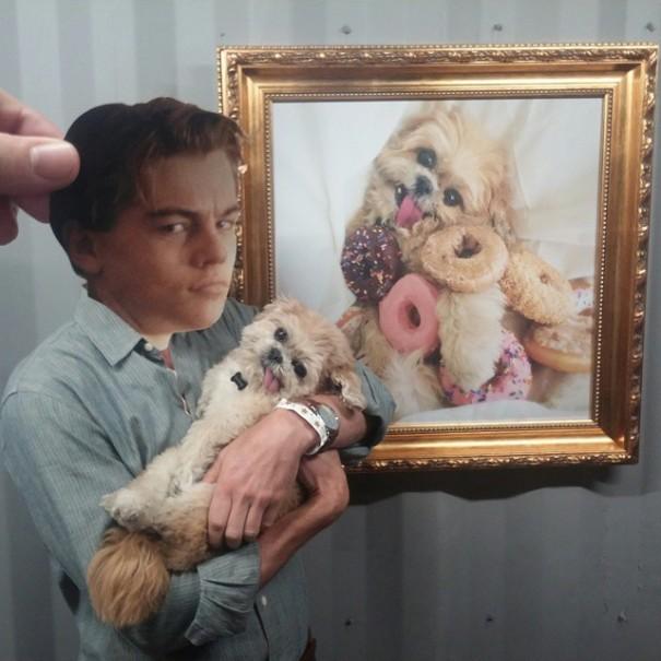 Zobaczcie, co pewien artysta robi z głową Leonardo DiCaprio!