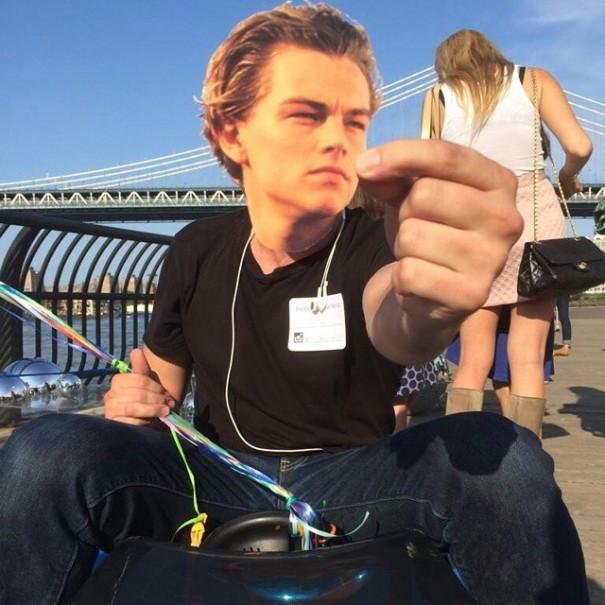Zobaczcie, co pewien artysta robi z g�ow� Leonardo DiCaprio!