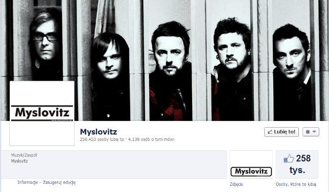 Hakerzy przejęli konto zespołu Myslovitz