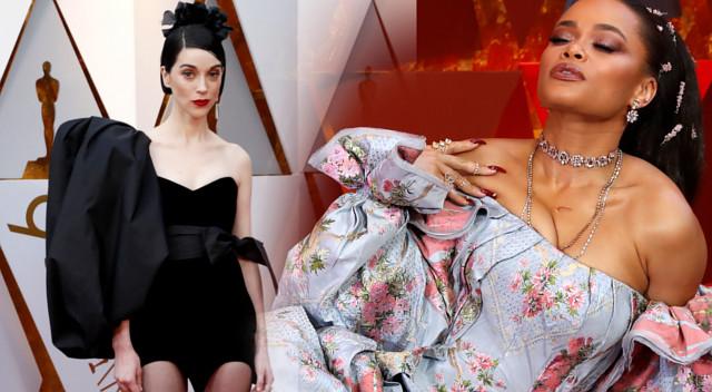 Modowe WPADKI na gali Oscarów 2018 – kto zapomniał o sukience? (ZDJĘCIA)