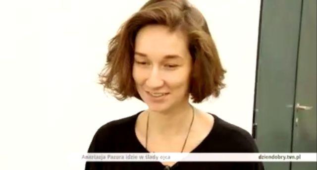 Anastazja Pazura, córka Cezarego, idzie w ślady taty (VIDEO)