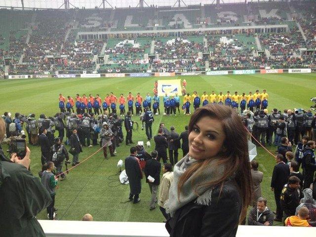 Natalia Siwiec znów na stadionie (FOTO)
