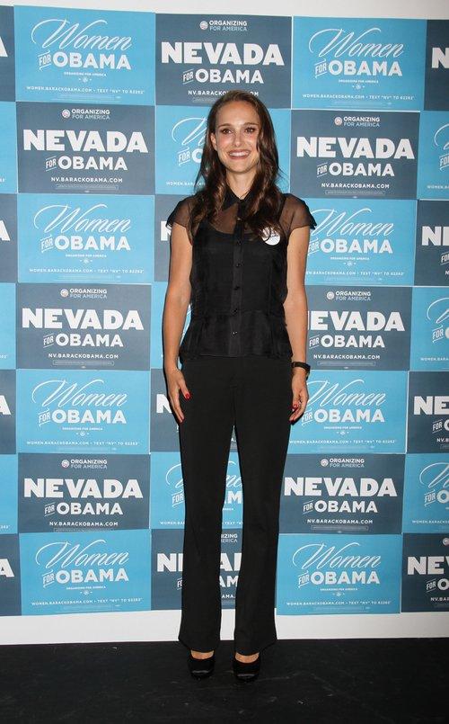 Natalie Portman wspiera kampanię Obamy (FOTO)