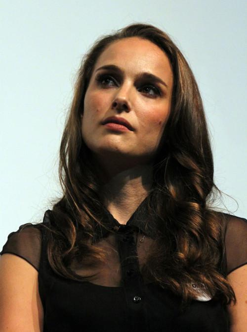 Natalie Portman l�ni na planie filmowym