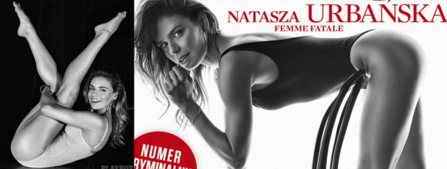 Natasza Urbańska w Playboyu: czarno-biała sesja