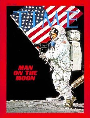 Nie żyje Neil Armstrong - pierwszy człowiek na księżycu