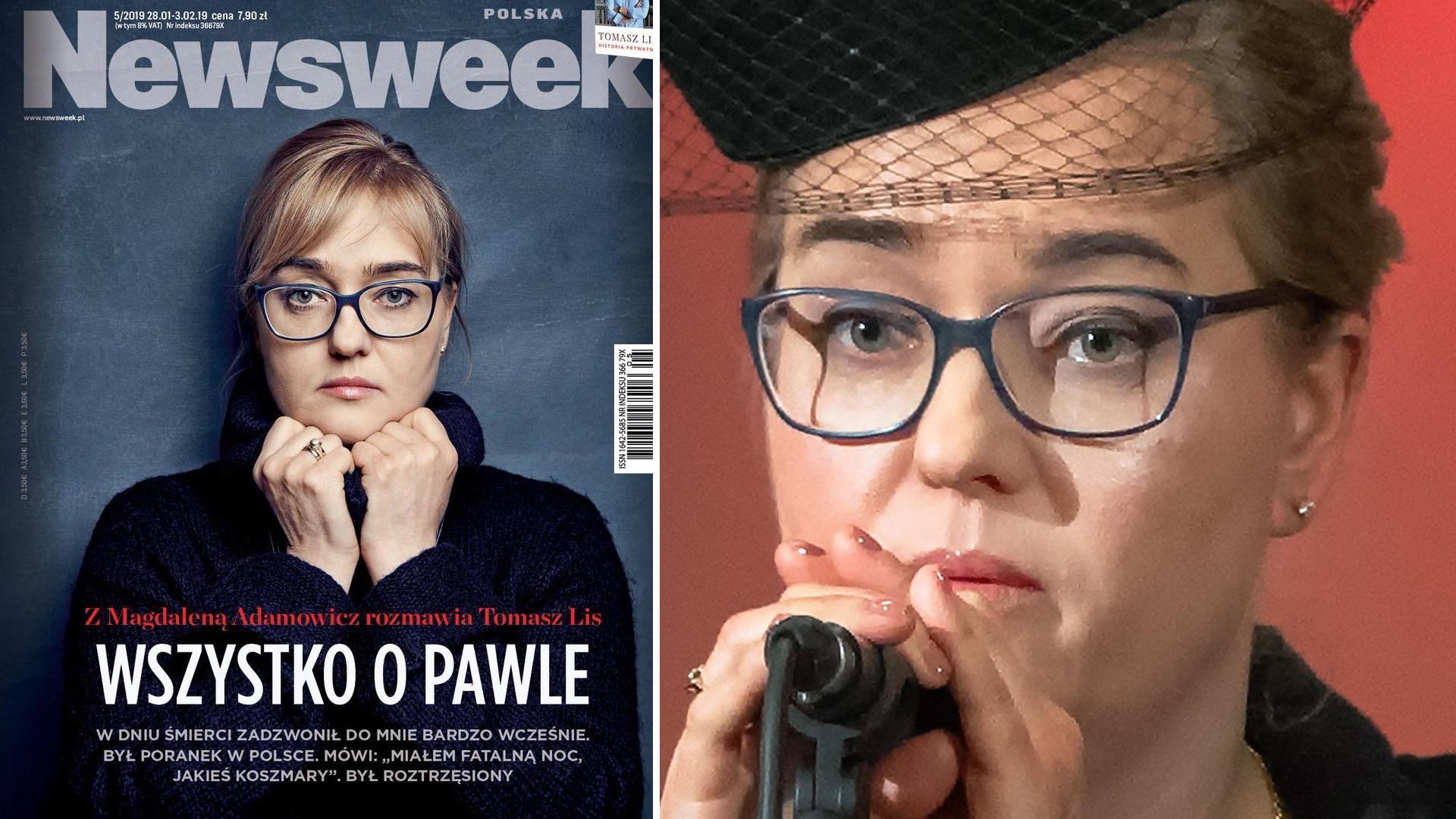 Magdalena Adamowicz w Newsweeku W dniu śmierci zadzwonił do mnie bardzo wcześnie