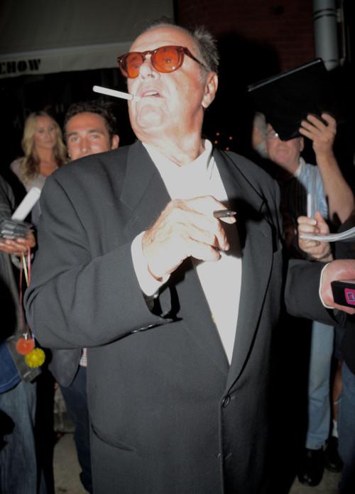 Jack Nicholson: �ycie �igolaka zawsze ko�czy si� �le