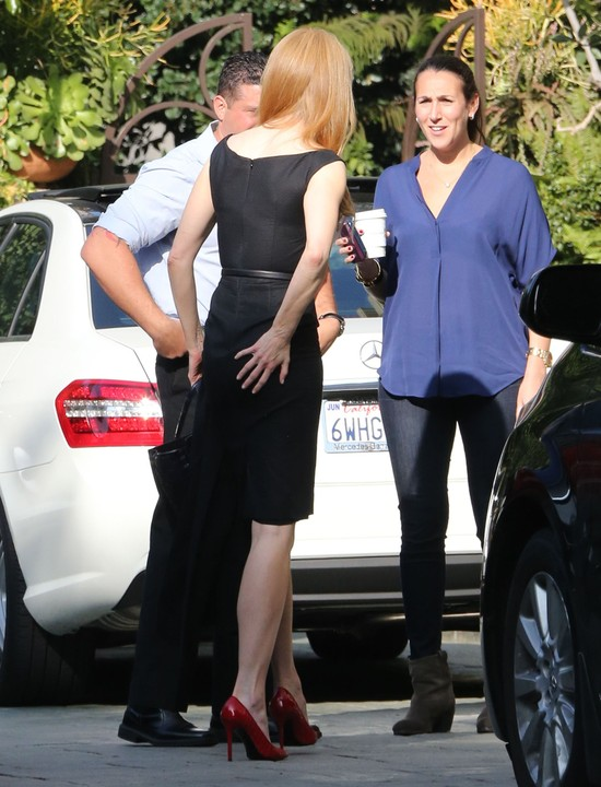 Nicole Kidman mimo botoksu potrafi się uśmiechać