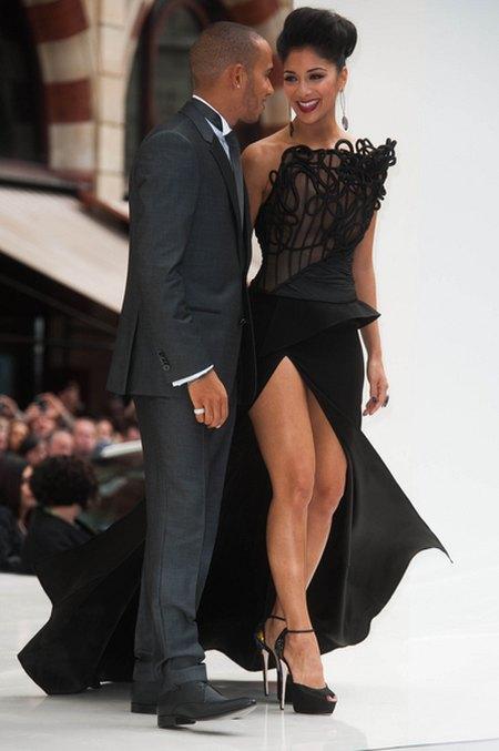 Nicole Scherzinger musiała zakrywać majtki (FOTO)