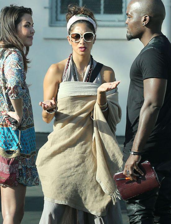 Nicole Scherzinger pozawijana jak tortilla (FOTO)