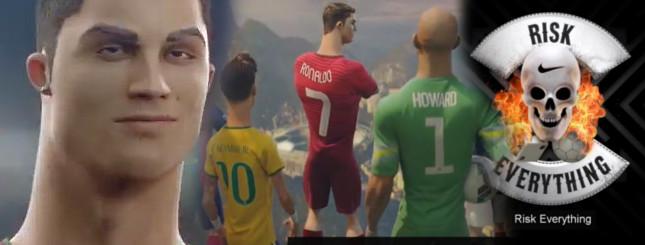 Ronaldo ratuje piłkę nożną dla świata [VIDEO]