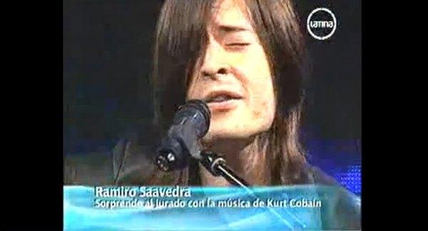 Ramiro Saavedra jak bliźniak Kurta Cobaina [VIDEO]