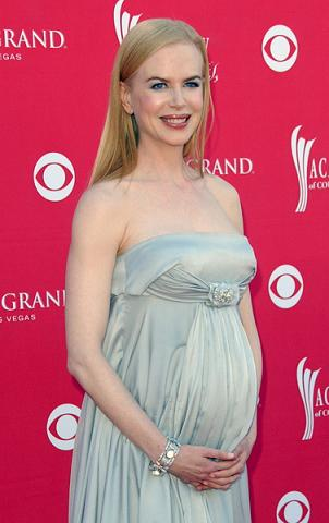 Nicole Kidman urodzi w lipcu