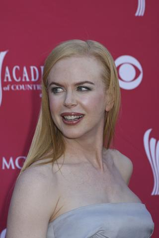 Nicole Kidman nago w ciąży