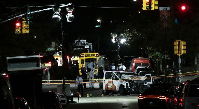 Koszmarny Halloween w Nowym Jorku – atak na Manhattanie, nie żyje 8 osób ZDJĘCIA