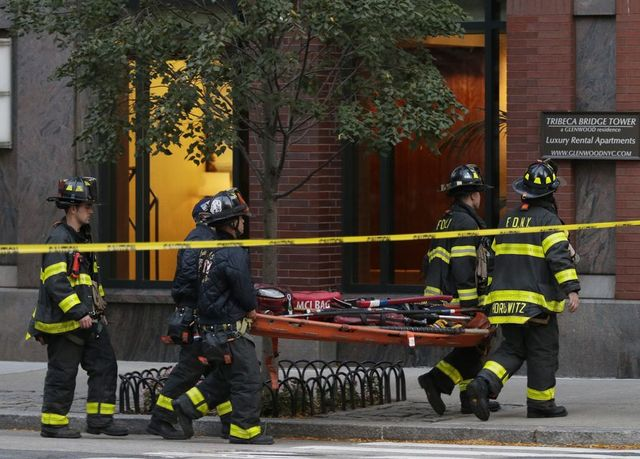 Koszmarny Halloween w Nowym Jorku - atak na Manhattanie, nie żyje 8 osób ZDJĘCIA