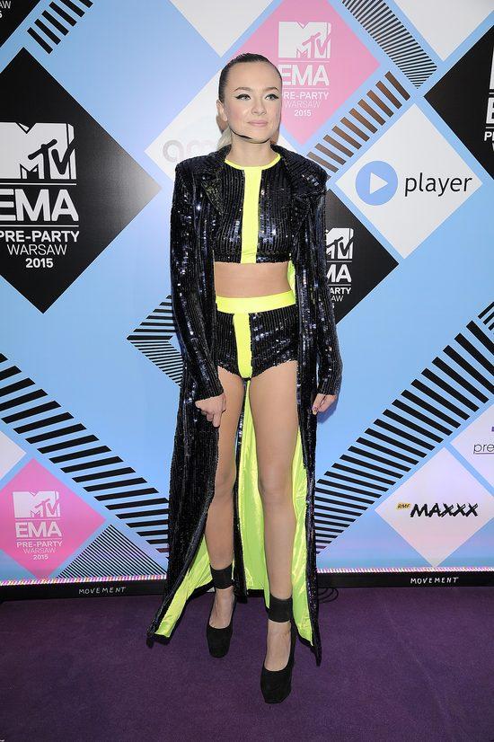 Natalia Nykiel i jej nogi do nieba na pre-party MTV VMA FOTO