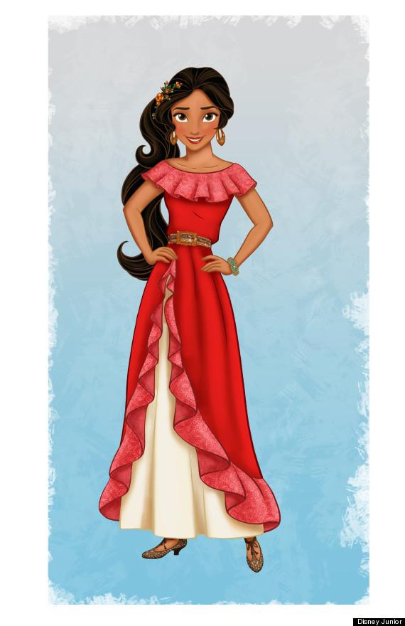 Oto nowa ksi�niczka Disneya - poznajcie Elen�, Latynosk� (F