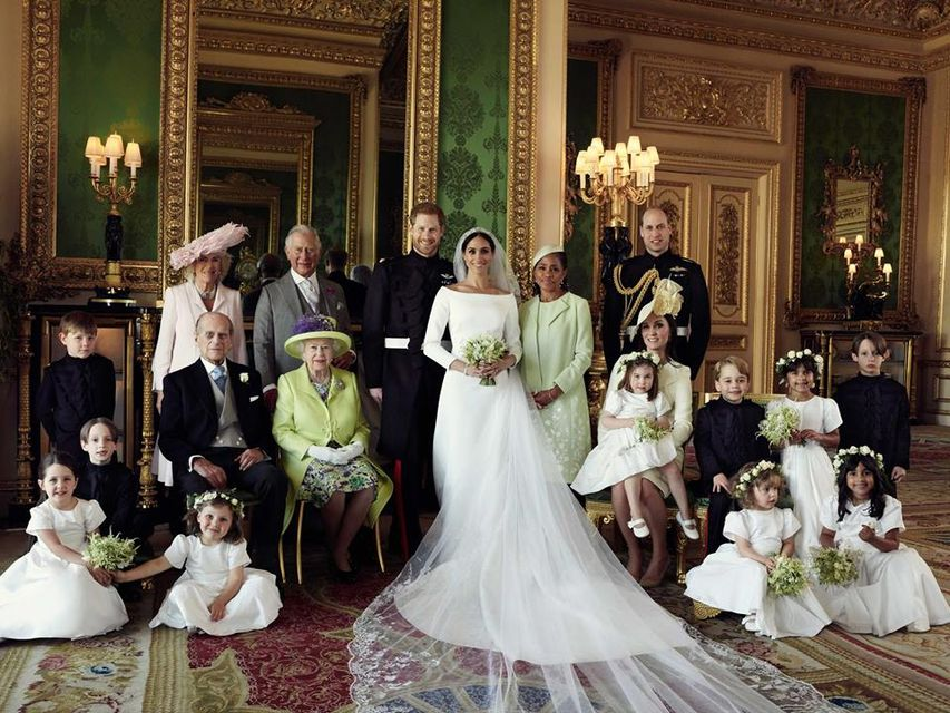 Trzy OFICJALNE zdjęcia ze ślubu księcia Harry'ego i Meghan Markle, czyli księżne