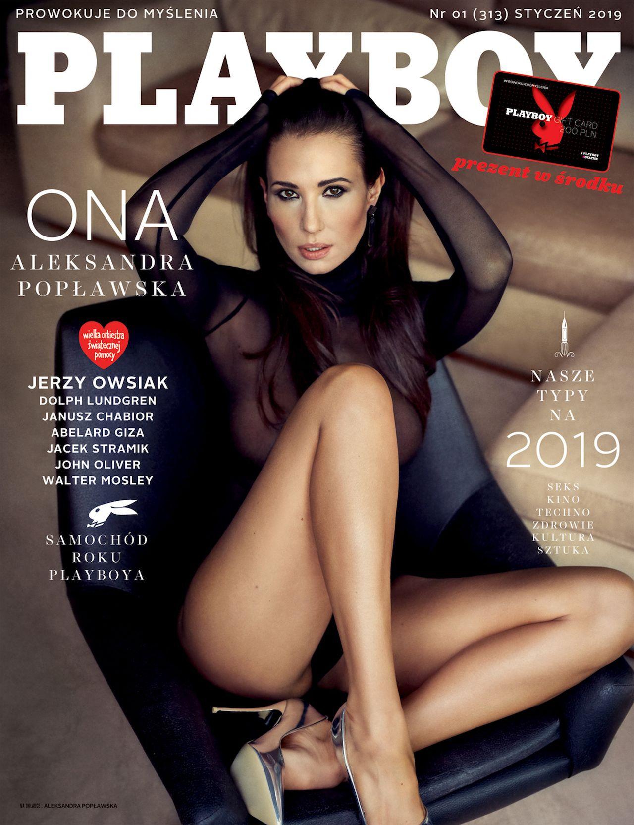 Aleksandra Popławska w Playboyu o tym, komu odda ciało i duszę + NOWE ZDJĘCIA