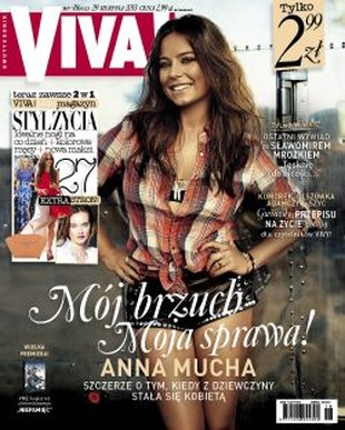 Anna Mucha nie zrobi sobie kolejnej sesji ciążowej
