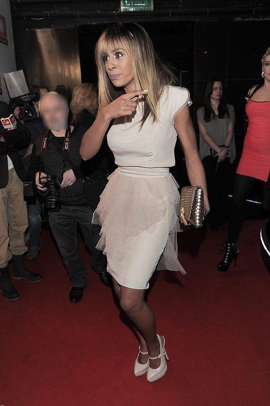 Ola Szwed w tiulowej sukience (FOTO)