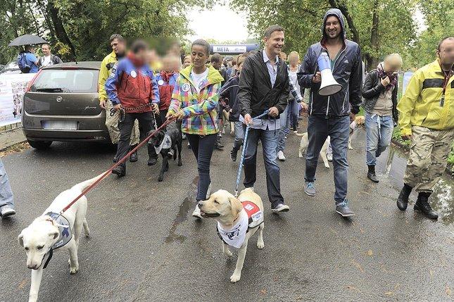 Ola Szwed na Paradzie Labradorów (FOTO)