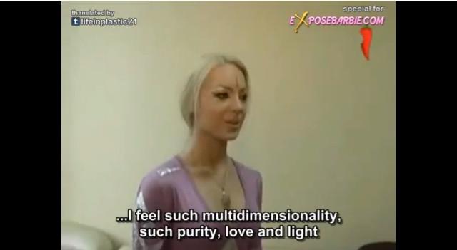 Valeria Lukyanova, żywa lalka barbie ma siostrę!