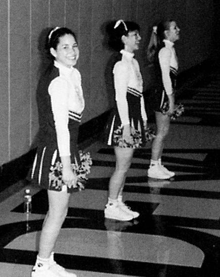 Galeria gwiazd, które w przeszłości był cheerleaderkami