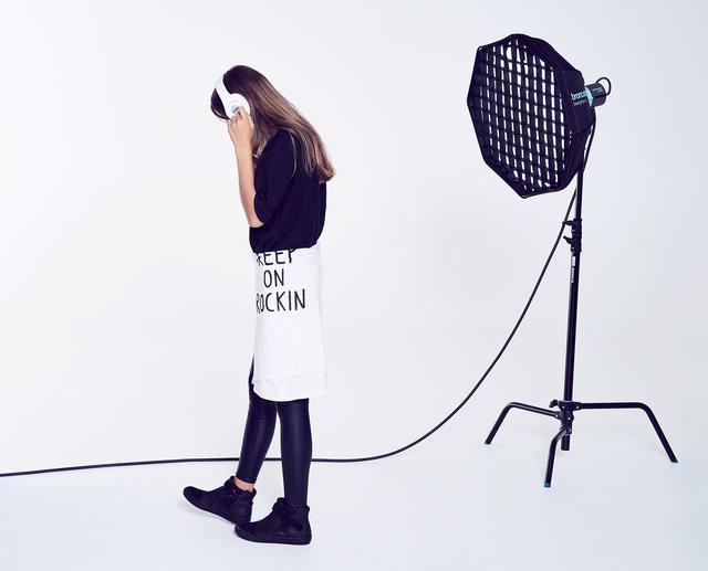 Córka Anny Przybylskiej, Oliwia Bieniuk, w kampanii marki odzieżowej (FOTO)