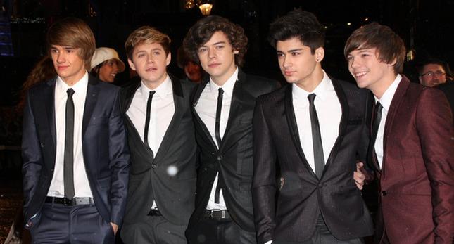 100 ochroniarzy dla One Direction!