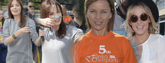Gwiazdy na otwarciu Onko-Olimpiady (FOTO)