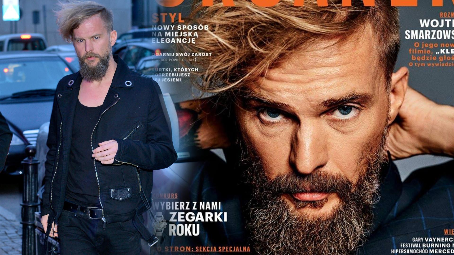 Organek w Esquire opowiedział, skąd się wzięła szrama na jego twarzy