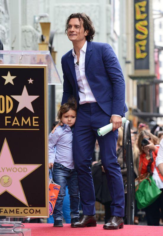To Orlando Bloom spędza więcej czasu z synem, Flynnem (FOTO)