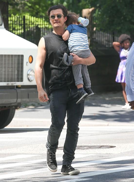 Orlando Bloom- przyk�adny tatu�