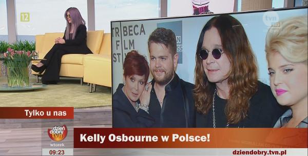Kelly Osbourne wyrwa�o si� f*ck off w �niadaniowej telewizji