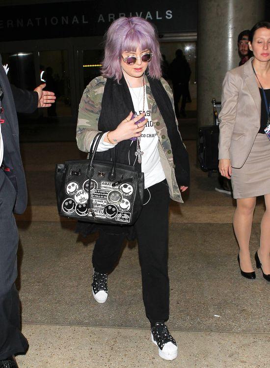 Co się stało z perfekcyjnym bobem Kelly Osbourne? (FOTO)