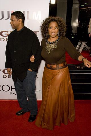Ciężarny mężczyzna u Oprah