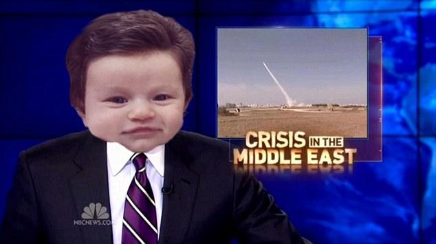 Dziecko z dużą ilością włosów stało się bohaterem memów [IMGUR]