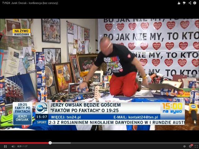 Jurek Owsiak: Mieszkam w bloku, płacę ZUS, a mój OFE jest...