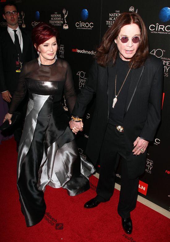 Sharon Osbourne wybaczyła Ozzy'emu (FOTO)