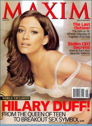 Hilary Duff dla Maxima