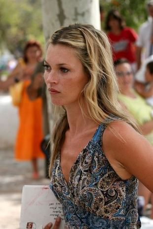 Kate Moss w rozsypce