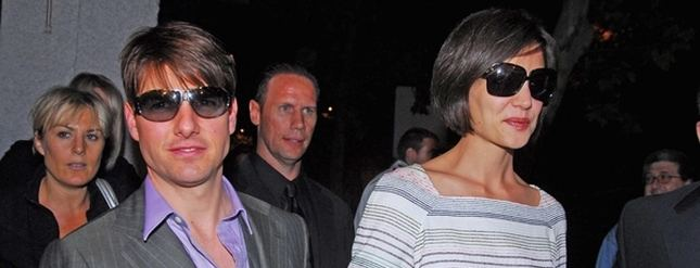 Tom Cruise. Katie Holmes. Nagość.