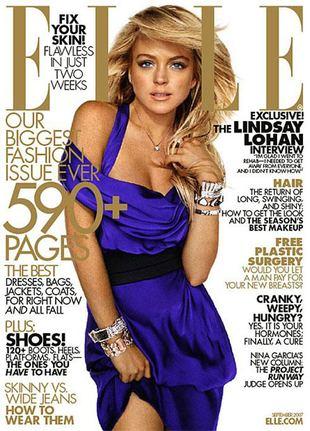 Lindsay Lohan jest jak sroka