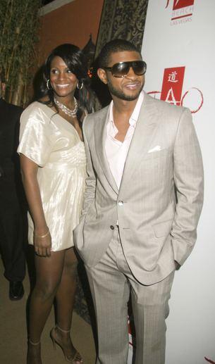 Usher po ślubie