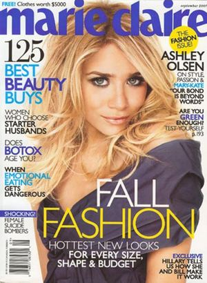 Ashley Olsen w Marie Claire